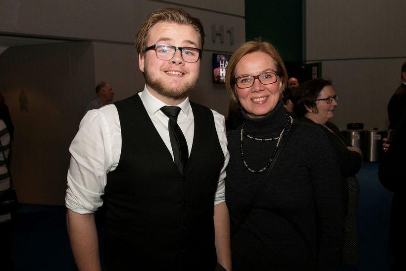 Ísak Leó Kristinsson og Sjöfn Kjartansdóttir.