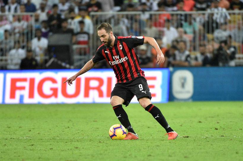 Gonzalo Higuaín er á leið til Chelsea.