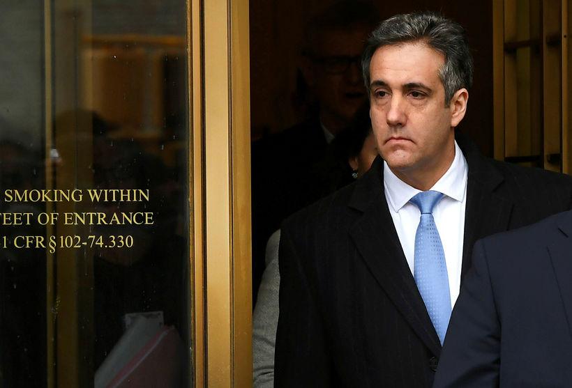 Micheal Cohen, fyrrverandi lögmaður forsetans.