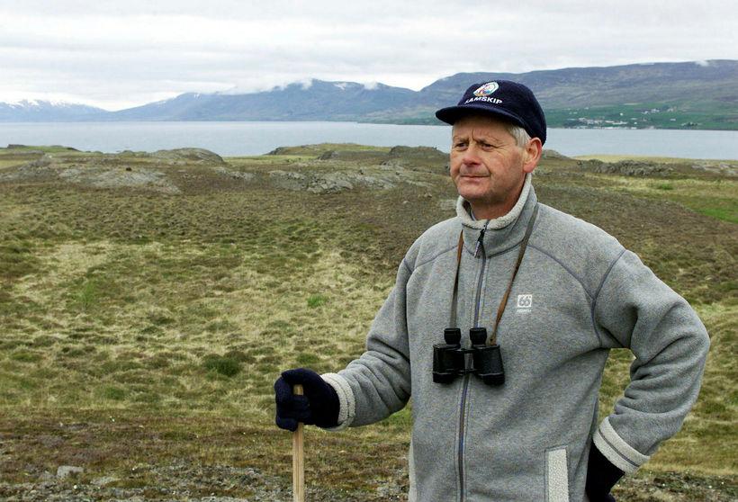Þorsteinn Þorsteinsson fuglaáhugamaður er einn þeirra sem hafa fylgst með ...