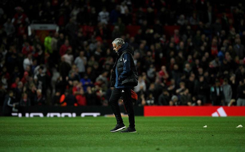 José Mourinho var rekinn í desember.