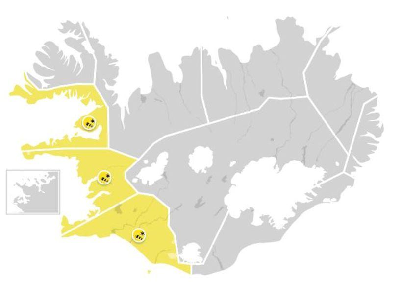 Veðurstofan varar við hríðarveðri annað kvöld.