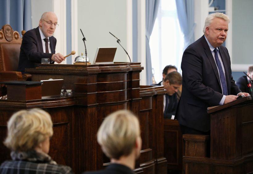 Ólafur Ísleifsson á Alþingi.