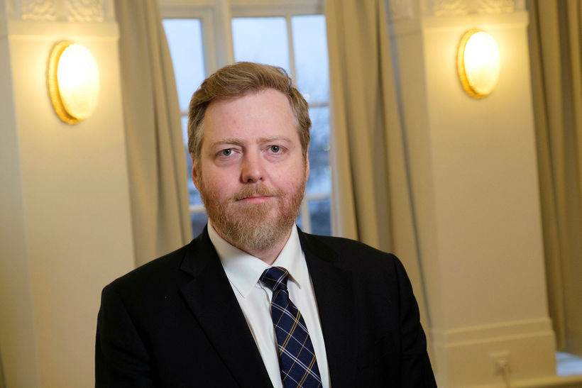 Sigmundur Davíð Gunnlaugsson, formaður Miðflokksins, telur ljóst að VG hafi ...