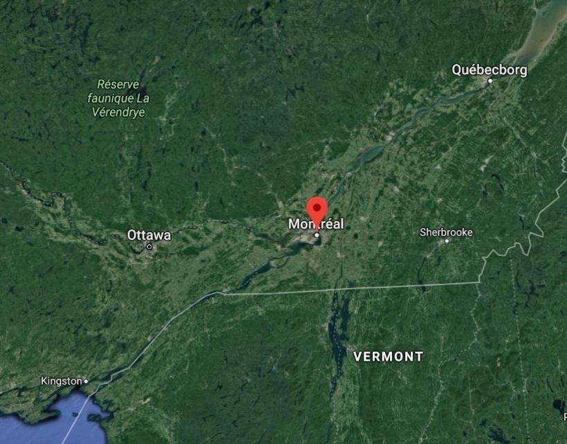 Miklar frosthörkur eru nú í austurhluta Kanada.