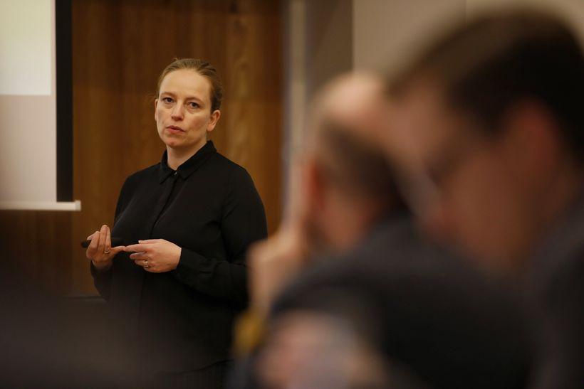 Anna Guðmunda Ingvarsdóttir, aðstoðarforstjóri Íbúðalánasjóðs og annar formanna átakshópsins, á ...