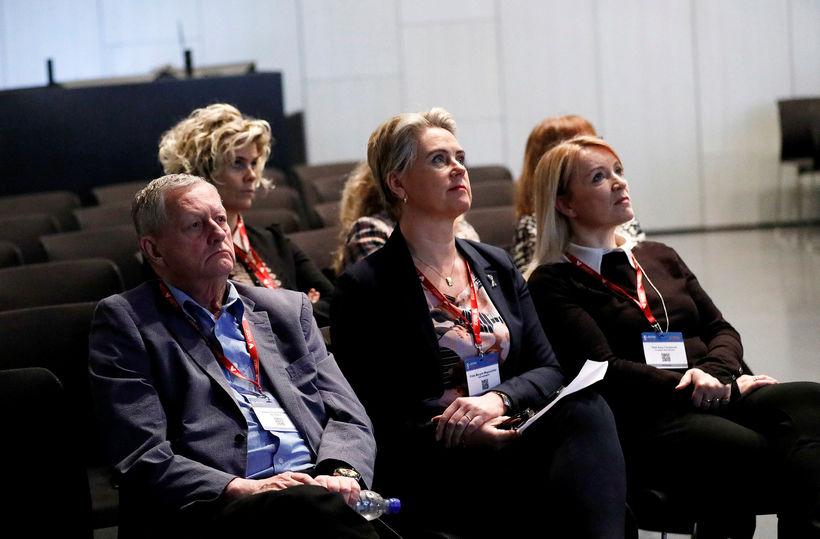 Gestur Pálsson barnalæknir flutti fyrsta fyrirlesturinn í málstofunni á Læknadögum …