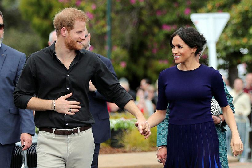 Harry og Meghan.