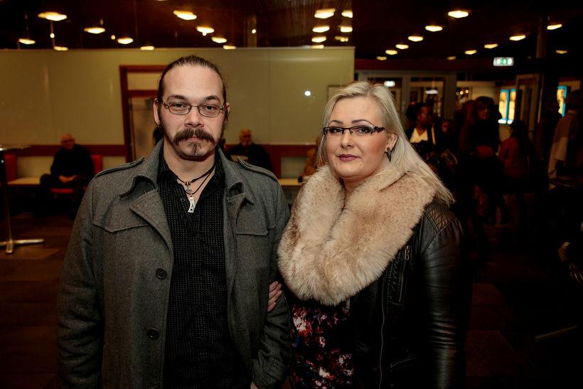 Jón Gestur Björgvinsson og Natalía Ósk Snædal.