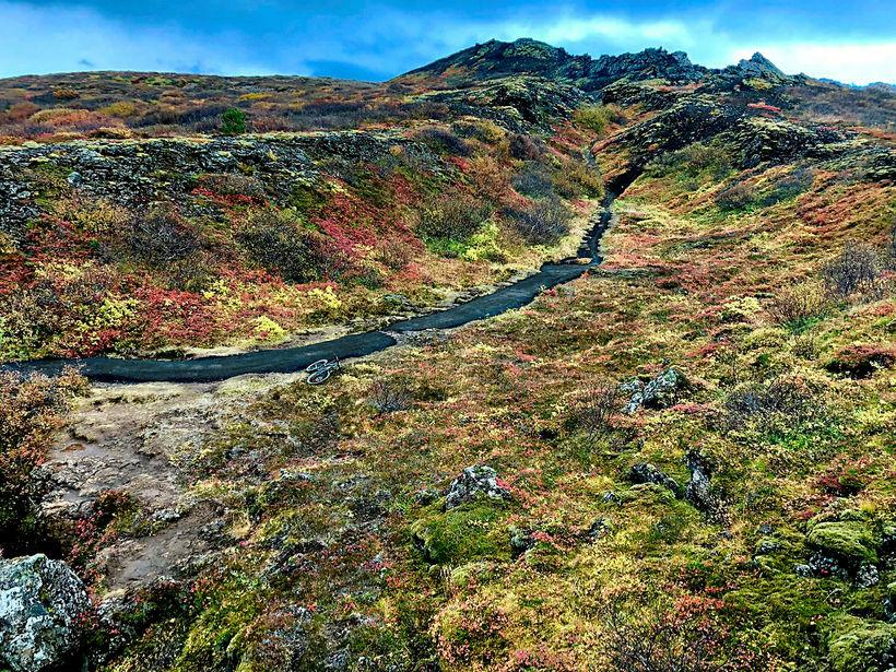 Heiðmörk. Á síðustu árum hefur umferð að Búrfellsgjá aukist og ...