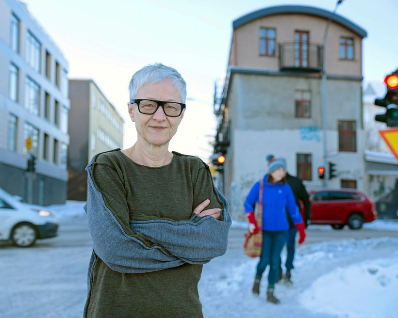 Þýska myndlistarkonan Karin Sander