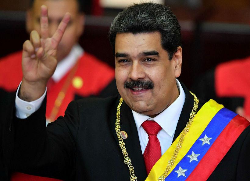 Nicolas Maduro, forseti Venesúela, segir Ku Klux Klan stjórna í ...