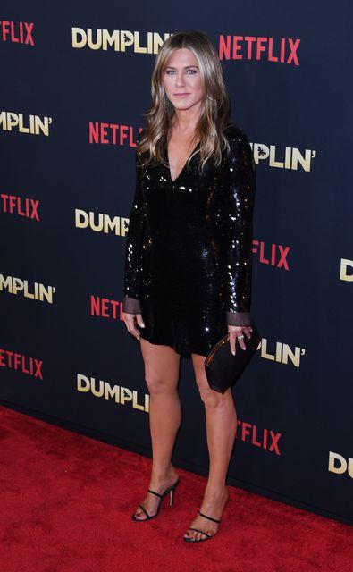 Jennifer Aniston er dugleg að mæta í ræktina.