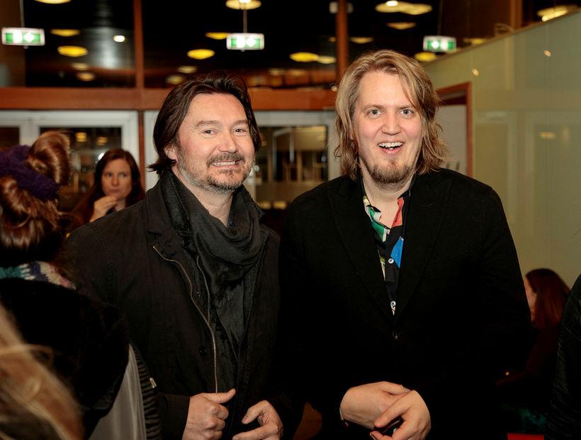 Aron Karlsson og Reynir Lyngdal.