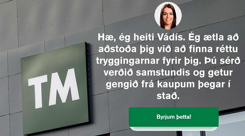 Vádís er ný þjónusta á vegum TM.