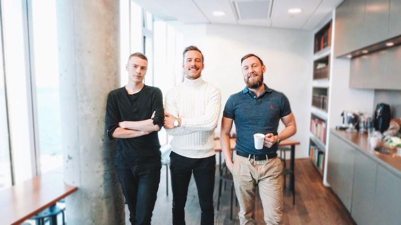 Aðstandendur Matvinna.is, þeir Theódór Ágúst Magnússon, Egill Halldórsson og Daníel …