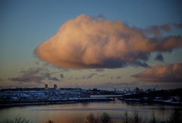 This magnificent cloud turned a few heads yesterday.