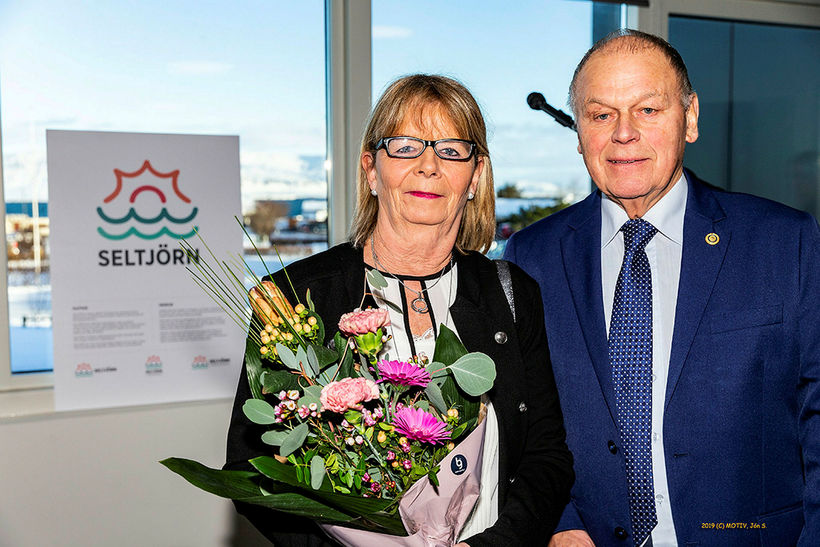 Hjónin Ólöf Guðfinnsdóttir og Guðmundur Ásgeirsson.