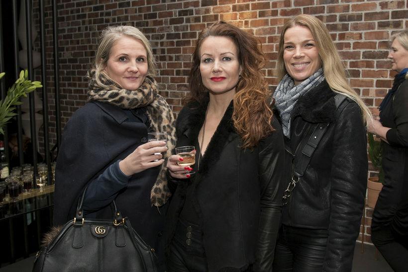 Kristjana Magnúsdóttir, Agnes Hlíf Andrésdóttir og Margrét Rós Gunnarsdóttir.