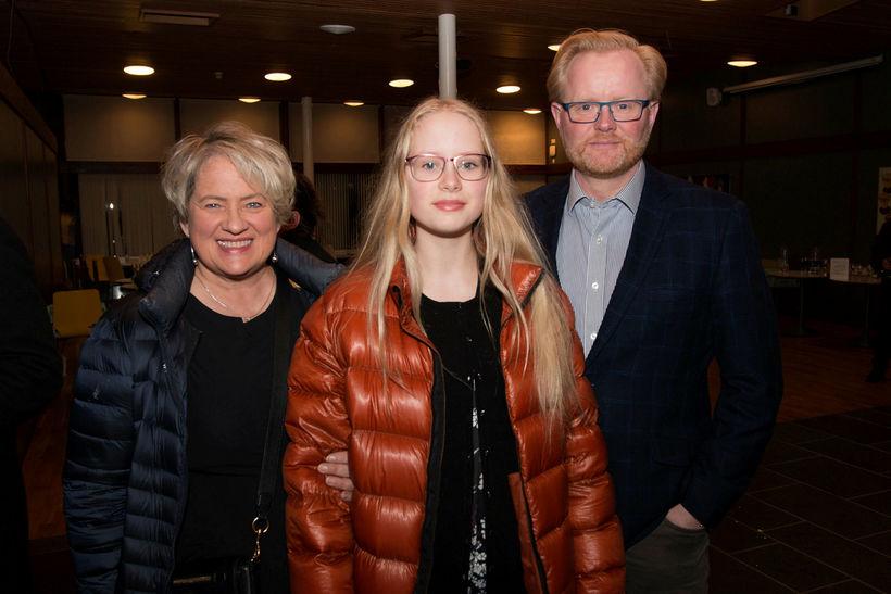 Halla Hrund Birgisdóttir, Helga Diljá Jörundsdóttir og Jörundur Kristjánsson.
