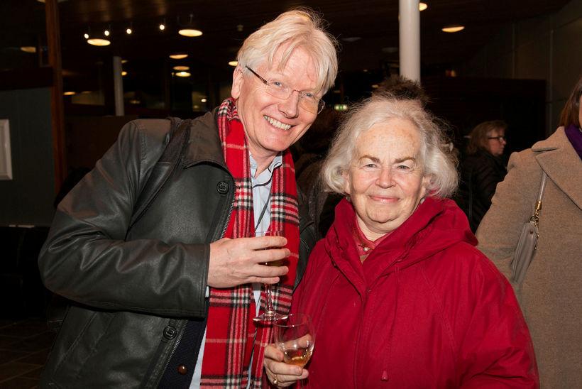 Torfi Tulinius og Katrín Eyjólfsson.