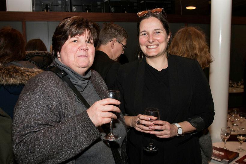 Diane Röhrig og Sophie Delporte.