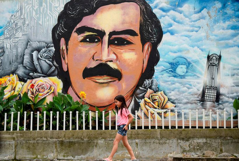 Talið er að eiturlyfjabaróninn Escobar hafi verið ábyrgur fyrir um ...