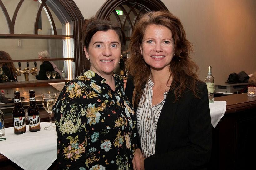 Kristín Magnúsdóttir og Steindóra Gunnlaugsdóttir.