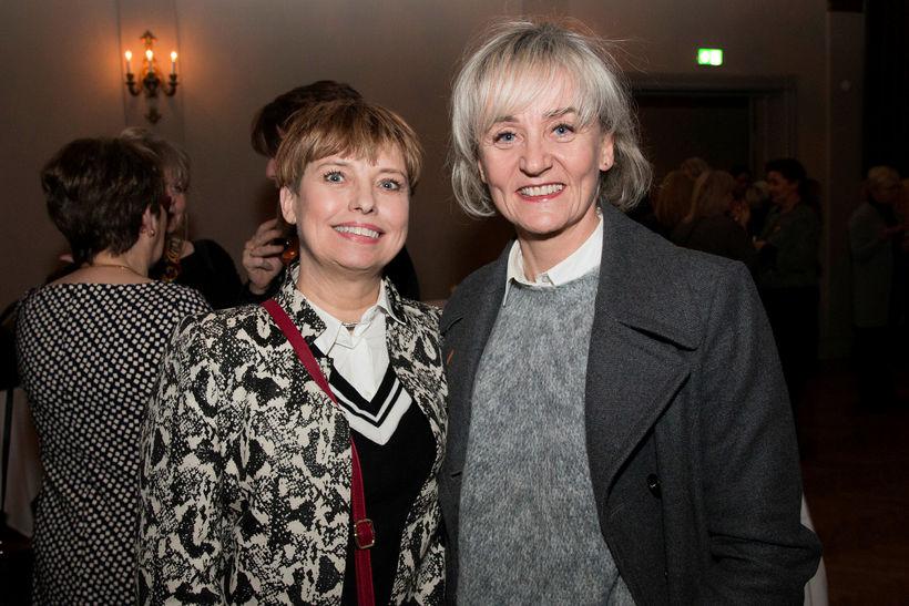 Ýr Gunnlaugsdóttir og Aðalheiður Jakobssen.