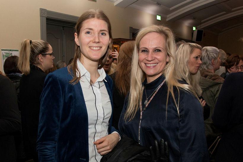Margrét Lilja Hrafnkellsdóttir og Linda B. Stefánsdóttir.