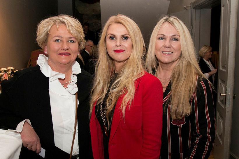 Sigrún Traustadóttir, Hafdís Jónsdóttir og Fjóla Friðriksdóttir.
