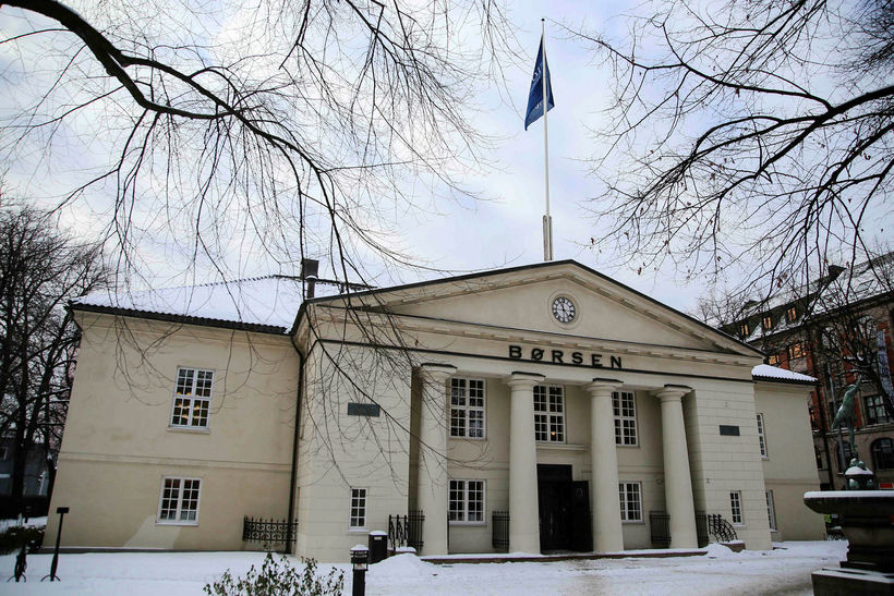 Kauphöllin í Ósló/Oslo Børs.
