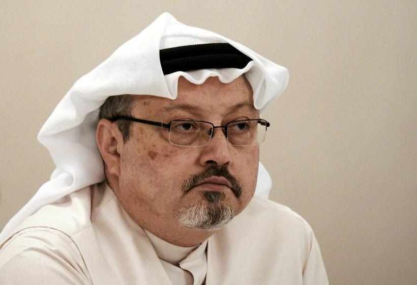 Jamal Khashoggi árið 2014.