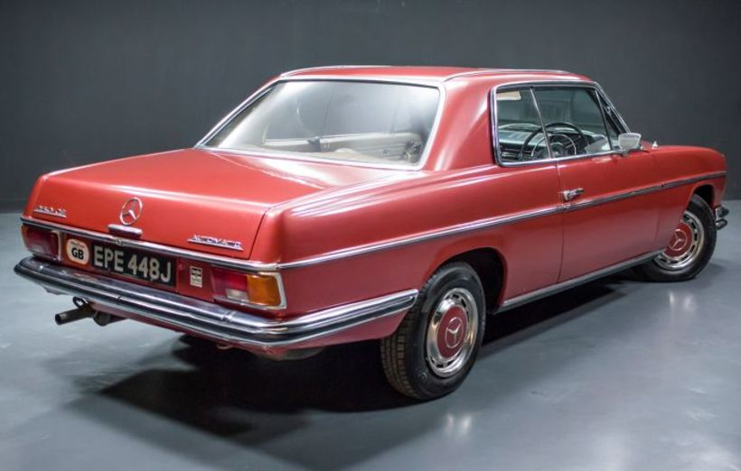 Hinn fyrsti Mercedes-Benz Harrisons er með nær öllu upprunalegur.