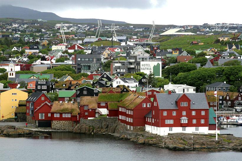 Slagsmálin áttu sér stað í Þórshöfn.