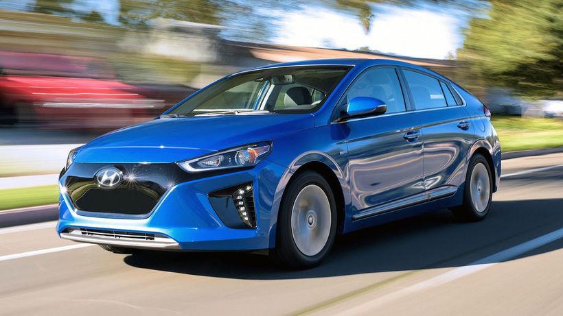 Hyundai Iioniq EV.