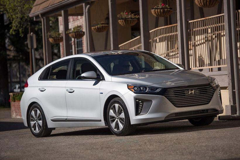 Hyundai Ioniq tegiltvinnbíllinn.