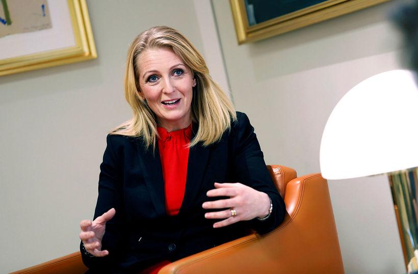 Lilja Björk Einarsdóttir bankastjóri Landsbankans.