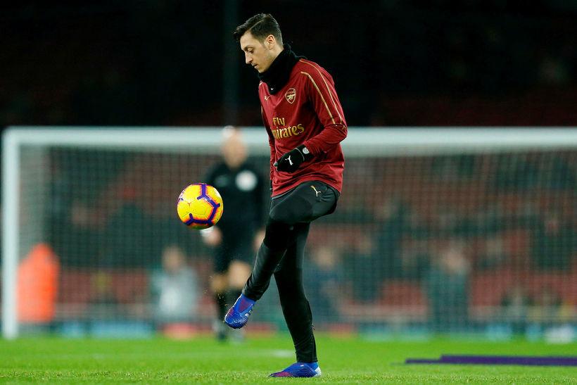 Mesut Özil virðist ekki eiga mikla framtíð hjá Arsenal þrátt ...