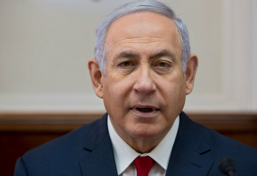 Mun Netanyahu glíma við liðsmenn Hatara?