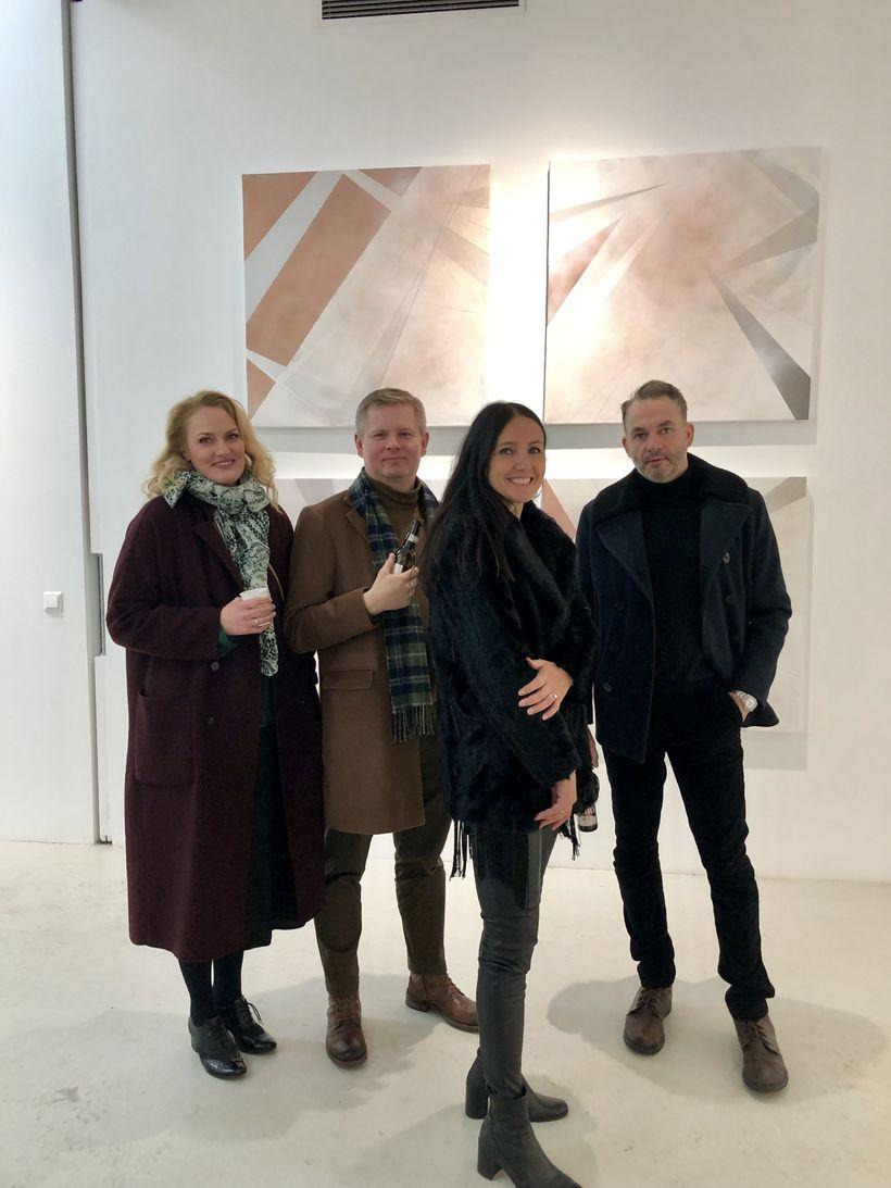 Oddný Magnea, Ólafur Frímann, Soffía Sigurgeirsdóttir og Bergur Rósinkrans.