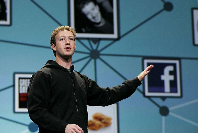 Mark Zuckerberg, stofnandi og forstjóri Facebook, er sagður hafa sýnt ...