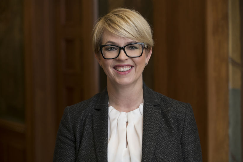 Hrefna Sigfinnsdóttir framkvæmdastjóri hjá Landsbankanum.