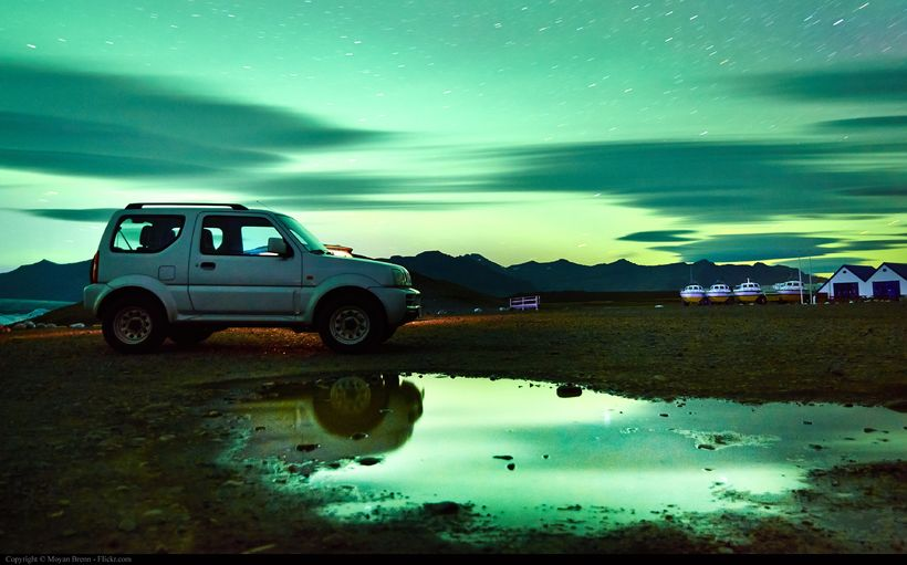 Suzuki Jimny-bílar hafa verið mjög áberandi í bílaleigubílaflota íslenskra bílaleiga ...