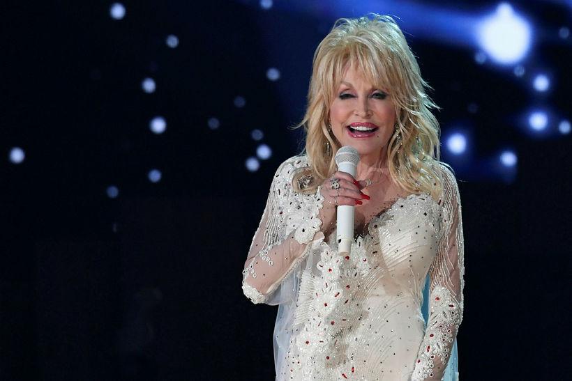 Tónlistarkonan Dolly Parton.