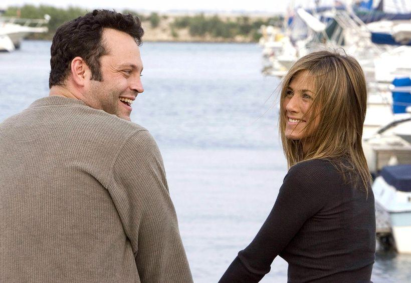 Jennifer Aniston notaði Vince Vaughn til að jafna sig á ...