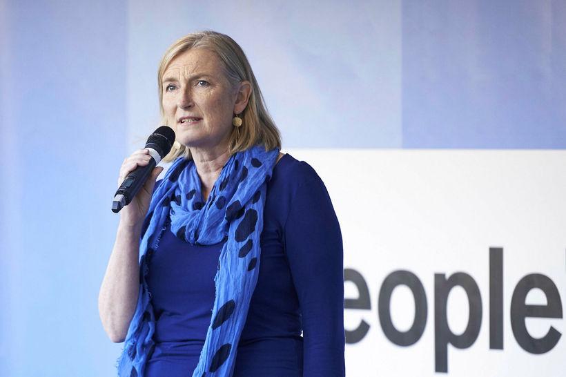Sarah Wollaston hefur yfirgefið breska Íhaldsflokkinn auk tveggja annarra þingkvenna ...