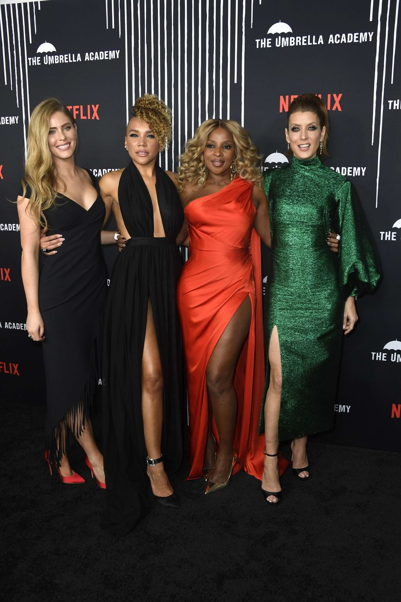 Jordan Claire Robbins, Emmy Raver-Lampman, Mary J. Blige og Kate ...