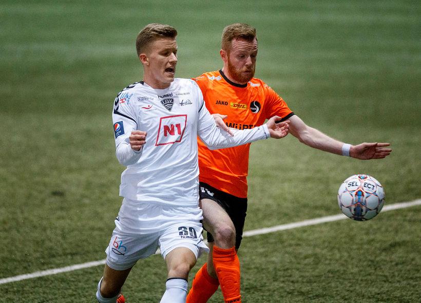 Miðjumaðurinn Atli Arnarson er kominn til HK frá ÍBV.