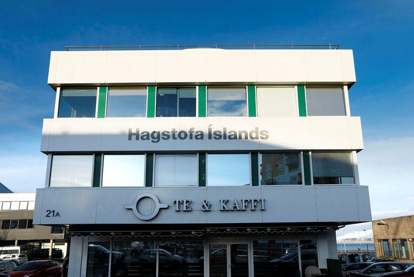 Hagstofa Íslands spáir því að hagvöxtur ársins verði 1,7%.